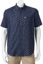 Coleman Men's Classic-Fit Textured Performance Button-Down Guide Shirt