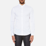 Michael Kors Men's Slim Long Sleeve Shirt White