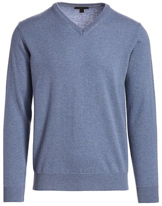 Saks Fifth Avenue COLLECTION V-Neck Cashmere Sweater