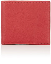 Barneys New York MEN'S CONTRAST-INTERIOR BILLFOLD-RED