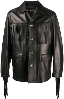Versace Fringed Jacket