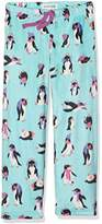Hatley Little House by Girl's Lbh Kids Fuzzy Fleece Pants-Cool Chick Pyjama Bottoms
