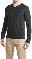 Gramicci Drake Hemp-Organic Cotton Shirt - V-Neck, Long Sleeve (For Men)
