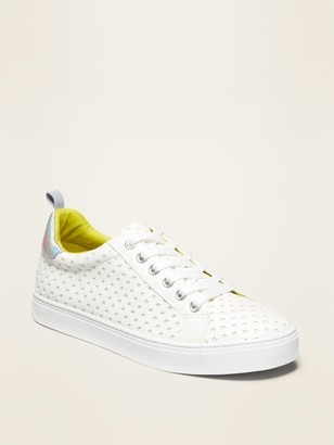 Old Navy Perforated Lace-Up Sneakers for Girls