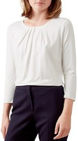Hobbs London Louise Pleat-Detail Top
