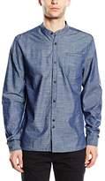 Bellfield Men's Paysans Regular Fit Long Sleeve Shirt
