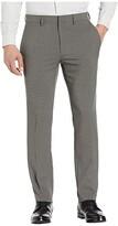Kenneth Cole Reaction Stretch Heather Tic Slim Fit Dress Pants (Medium Grey) Men's Casual Pants