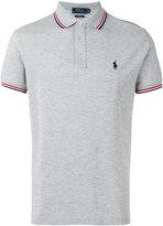 Polo Ralph Lauren contrast trim polo shirt - men - Cotton - L
