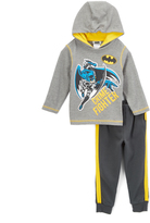 Children's Apparel Network Batman 'Crime Fighter' Hoodie & Sweatpants - Toddler