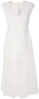 Gloria Coelho tulle skirt midi dress