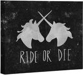 Deny Designs Ride Or Die Unicorns By Leah Flores