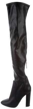 Aquazzura Leather Over-The-Knee Boots