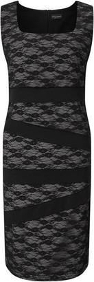 James Lakeland Sleeveless Lace Band Dress