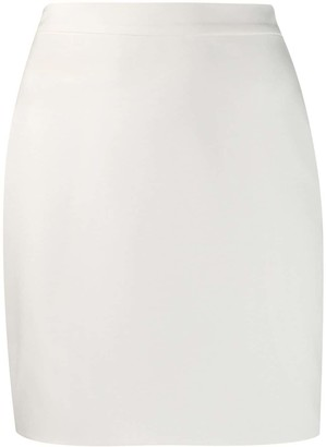 Loulou Fitted Mini Skirt