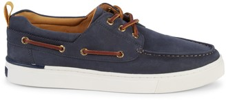 Sperry Gold Cup Victura 3-Eye Suede Sneakers