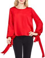 Vince Camuto Tie Cuff Balloon Sleeve Blouse