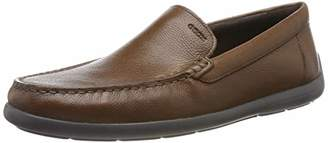 Geox Men's U DEVAN B Loafers, Brown (Browncotto C6003)