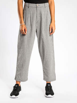 Stussy Kirby Pants in White Check