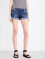 Paige Jimmy Jimmy distressed denim shorts