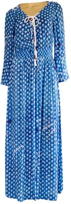 Poupette St Barth Blue Viscose Dresses