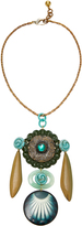Lulu Frost M'O Exclusive Vintage Floral And Buckle Necklace
