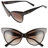 Dior 'Mohotani' 58mm Cat Eye Sunglasses