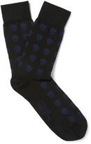 Alexander Mcqueen - Skull-patterned Stretch-cotton Socks