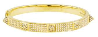 Anita Ko 18K Diamond Spike Oval Bracelet