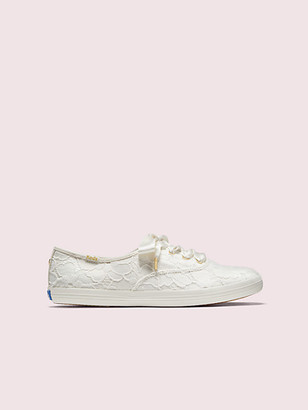 Kate Spade Keds X Champion Lace Sneakers