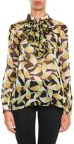 N°21 Printed Silk Chiffon Shirt