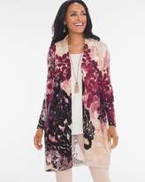 Chico's Warm Floral Cardigan