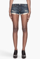 Rag and Bone RAG & BONE Faded blue frayed The Mila Shorts