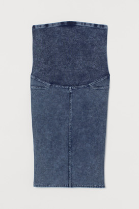 H&M MAMA Denim-look skirt