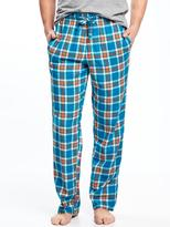Old Navy Plaid Flannel Sleep Pants for Men