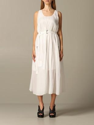 Armani Collezioni Armani Exchange Dress Armani Exchange Pleated Dress With Belt