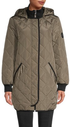 DKNY Quilted Jacket