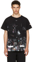 Off-White Black Galaxy Brushed T-shirt