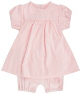 Absorba Baby Girls Pink Spotted Combi Romper