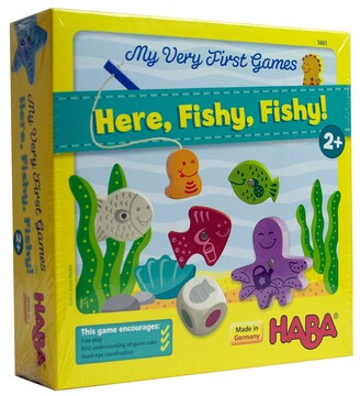 Haba My Very First Games Here, Fishy, Fishy Game
