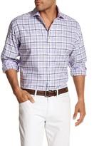 Thomas Dean Plaid Classic Fit Shirt