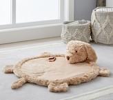 Pottery Barn Kids Seasonal Fur Playmat - Labradoodle