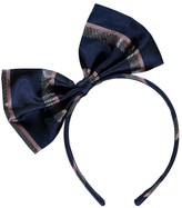 No Added Sugar Jaunty Lurex Stripe Bow Headband