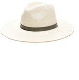 Janessa Leone Agave Wide Brim Panama Hat