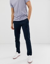 Original Penguin slim fit stretch chinos in navy