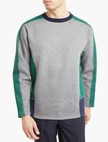 Kolor Grey Panelled Sweatshirt