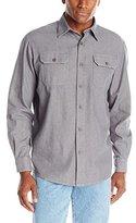 Wrangler Authentics Mens Long-Sleeve Classic Woven Shirt