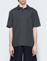 Margaret Howell Woven Polo Shirt