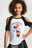 Forever 21 FOREVER 21+ Girls Minnie Mouse Tee (Kids)