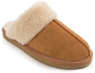 Minnetonka Women's Slide Suede Slippers - Chesney Scuff