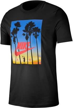 Nike Tropical Print Cotton T-Shirt